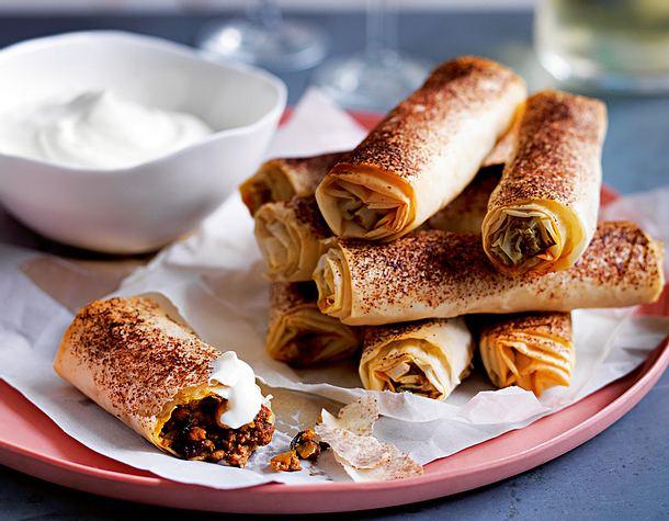 Türkische Fleischröllchen Rezept | LECKER