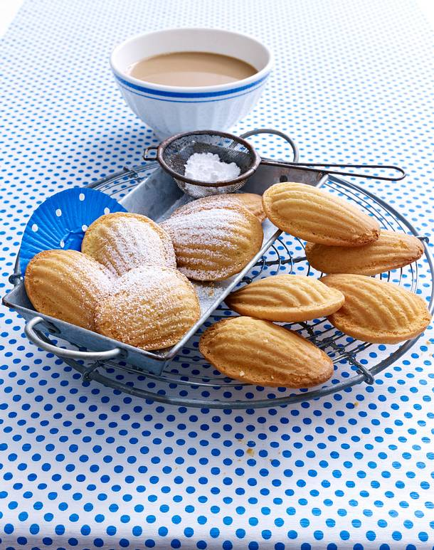 französische madeleines rezept | lecker - Französische Küche Rezepte