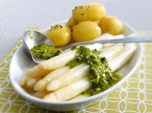 BrlauchGribiche zu Spargel  neuen Kartoffeln Rezept  LECKER
