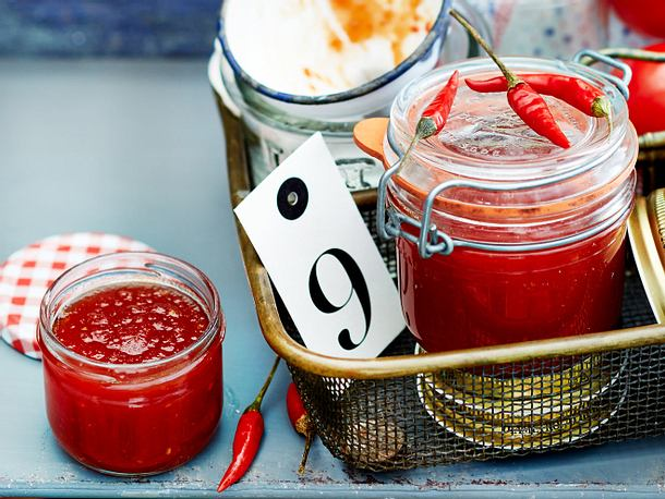 Süss-Scharfe Chilikonfitüre Rezept | Lecker