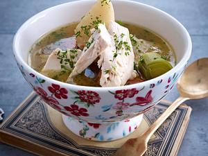 (Goldene Joich) Jüdische Hühnersuppe Rezept
