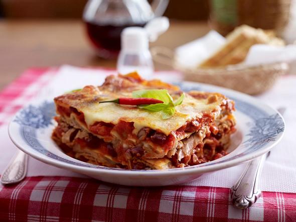 Lasagne Arrabiata mit Thunfisch Rezept