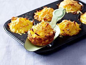 Kartoffelrösti-Muffins Rezept