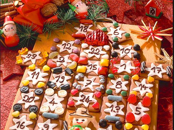 Adventskalender Rezept