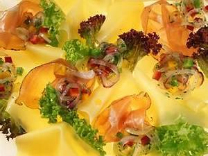 Allgäuer Emmentaler-Carpaccio mit Zwiebelsalat Rezept