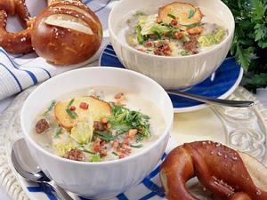 Allgäuer-Käsesuppe Rezept