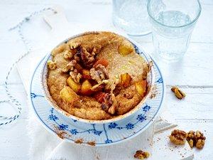 Amaranth-Porridge mit Äpfeln und Walnüssen Rezept
