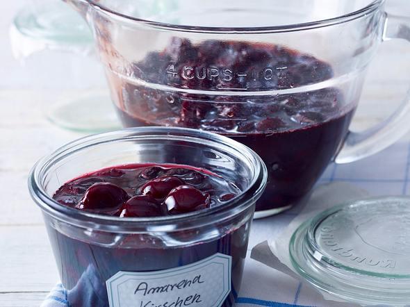 Amarena-Kirschen Rezept