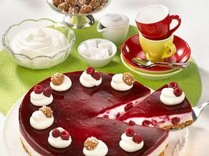 Amaretti-Himbeer-Torte Rezept