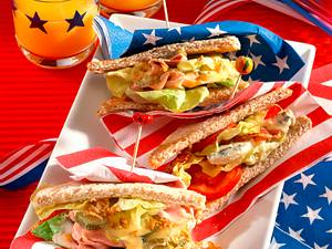 American Sandwiches Rezept