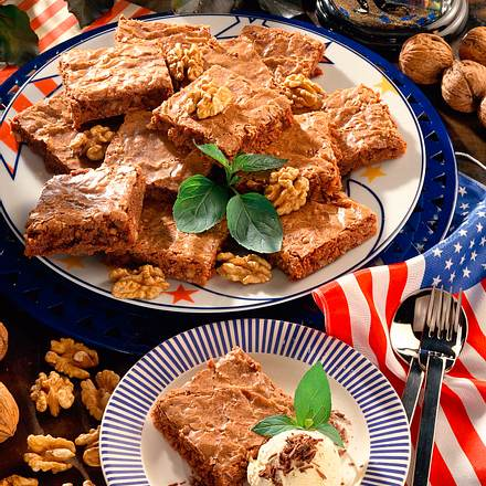 Amerikanische Brownies Rezept