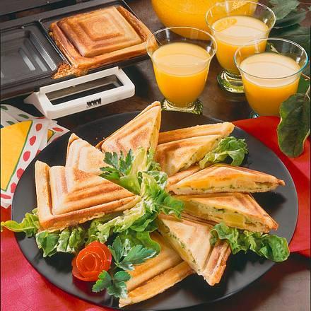 Ananas-Käse-Sandwiches Rezept