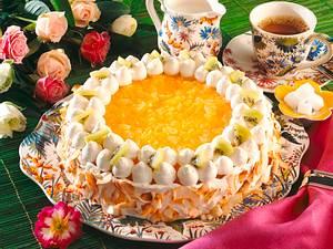 Ananas-Kokos-Quarktorte Rezept