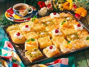 Ananas-Kuchen mit Kokos-Kruste Rezept