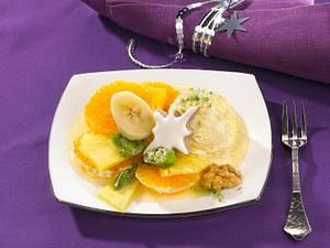 Ananas-Mandarinen-Obstsalat Rezept