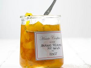 Ananas-Pflaumen-Ingwer-Konfitüre Rezept