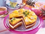 Ananas-Schokotorte Rezept