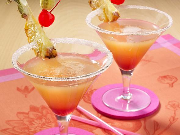 Ananas-Sekt-Cocktail Rezept