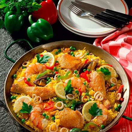 Andalusische Paella Rezept