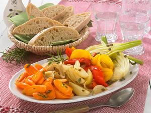 Antipasti-Gemüse light Rezept