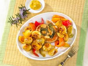 Antipasti-Kartoffelsalat zu Bratwurst Rezept
