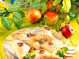 Apfel-Blätterteig-Ecken Rezept