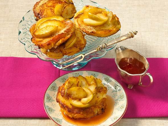 Apfel-Buttermilch-Pancakes Rezept