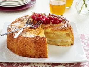 Apfel-Charlotte mit gesalzener Butter Rezept