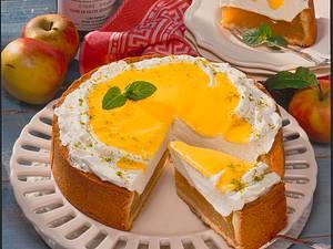 Apfel-Cidre-Torte mit Eierlikör Rezept