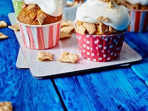 Apfel-Muffins mit Zimt-Knusper Rezept