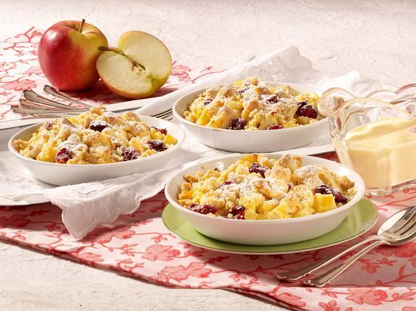 Apfel-Cranberry Crumble Rezept