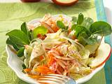 Apfel-Fenchel-Salat mit Sprossen Rezept