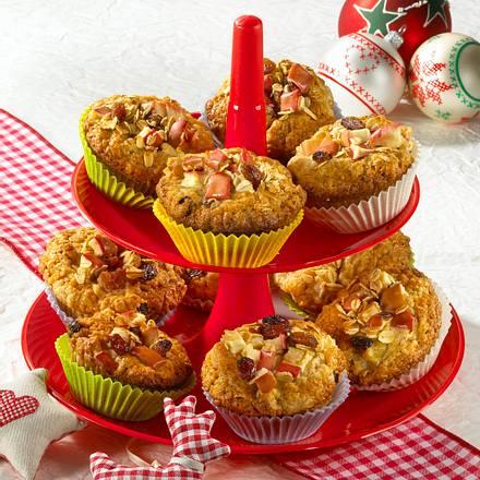Apfel-Gewürz-Muffins Rezept