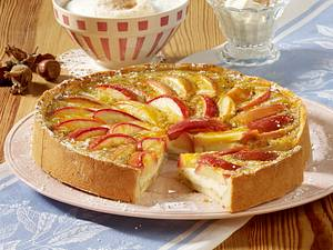 Apfel-Haselnusskuchen Rezept