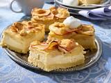 Apfel-Käsekuchen vom Blech mit Streuseln Rezept