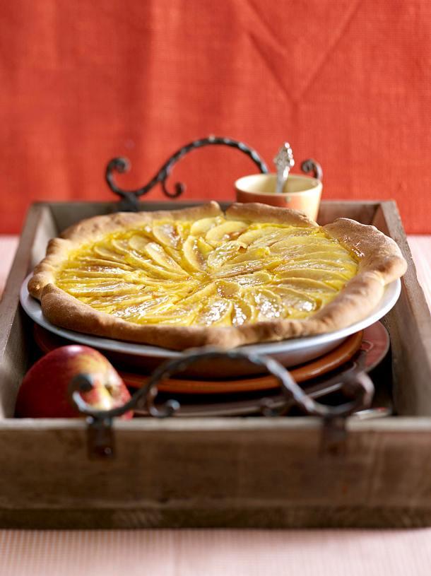 Apfel-Käsekuchen-Wähe Rezept