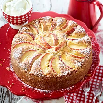 Apfel-Mandel-Kuchen Rezept  LECKER