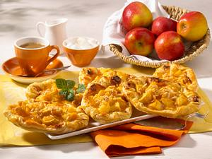 Apfel-Marzipan-Kopenhagener (weniger Kalorien) Rezept