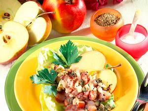 Apfel-Matjes-Tatar Rezept