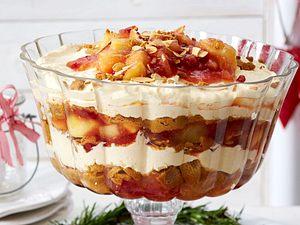 Apfel-Pfefferkuchen-Schichtspeise Rezept