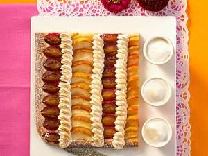 Apfel-Pflaumenkuchen Rezept