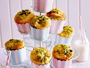 Apfel-Pistazien-Muffins Rezept