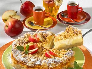 Apfel-Quark-Streuselkuchen (Diabetiker) Rezept