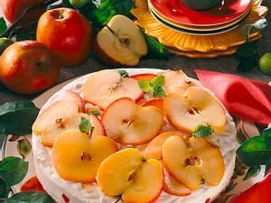 Apfel-Quarktorte Rezept