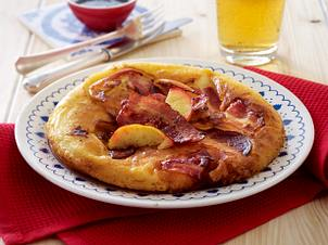 Apfel-Speck-Pfannkuchen (Pannekoeken) Rezept