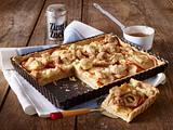 Apfel-Streusel-Tarte mit Butter-Zimt-Streusel Rezept