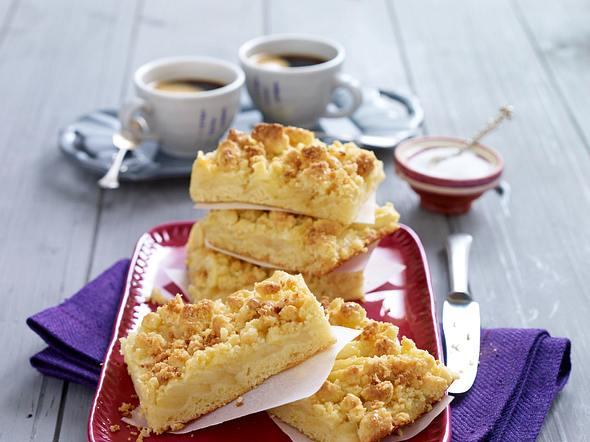 Apfel-Streuselkuchen vom Blech Rezept