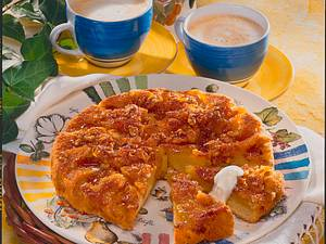 Apfel-Walnuss-Tarte Rezept