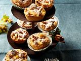 Apfel-Zimt-Muffins mit Zimtsirup Rezept
