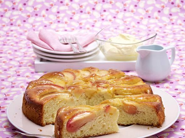 Apfel-Zitronen-Kuchen Rezept